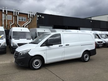 2015 MERCEDES-BENZ VITO 1.6 111CDI LONG 114BHP NEW SHAPE. LOW 26,000 MILES. 1 OWNER £9980.00