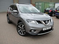 USED 2016 16 NISSAN X-TRAIL 1.6 DCI TEKNA XTRONIC 5d AUTO 130 BHP ANY PART EXCHANGE WELCOME, COUNTRY WIDE DELIVERY ARRANGED, HUGE SPEC