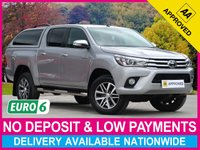USED 2017 66 TOYOTA HI-LUX 2.4 D-4D EURO 6 INVINCIBLE DOUBLE CAB HARDTOP CANOPY TRUCKMAN HARDTOP CANOPY REVERSE CAM CLIMATE CONTROL