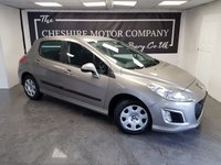 2012 PEUGEOT 308 1.6 E-HDI ACCESS 5d AUTO + 2 FORMER KEEPER + HISTORY £3850.00