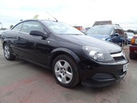 USED 2008 08 VAUXHALL ASTRA 1.6 TWIN TOP AIR COVERTIBLE GREAT SPEC