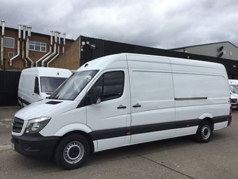 2016 MERCEDES-BENZ SPRINTER 2.1 313CDI LWB HIGH ROOF 130BHP LOW 92K. MERC WARRANTY. PX £12500.00
