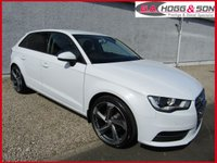 2015 AUDI A3 1.6 TDI SE TECHNIK 5dr  GREAT SPECIFICATION, FINISHED IN WHITE £10495.00
