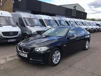 USED 2015 15 BMW 5 SERIES 2.0 518D SE 4DR SALOON SATNAV. XENONS. 1 OWNER. F/S/H. FINANCE SATNAV. XENONS. LEATHER. £30 TAX. LOW FINANCE. PX