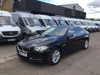 2015 BMW 5 SERIES 2.0 518D SE 4DR SALOON SATNAV. XENONS. 1 OWNER. F/S/H. FINANCE £8450.00