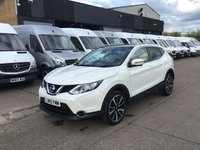 USED 2015 15 NISSAN QASHQAI 1.6 DCI TEKNA 5DR 128BHP. PAN ROOF. NAV. CAMERA. BIG SPEC. PAN ROOF. CAMERAS. SATNAV. LEATHER. LOW FINANCE. PX