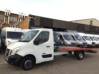 USED 2014 14 NISSAN NV400 2.3 DCI SE SHR RECOVERY TRUCK 125BHP BEAVERTAIL. 1 OWNER. PX 1 OWNER. F/S/H. LOW FINANCE. PX WELCOME