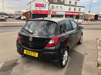 USED 2011 11 VAUXHALL CORSA 1.2 SXI 5d 83 BHP *** ONLY 42,000 MILES *** 12 MONTHS WARRANTY ***