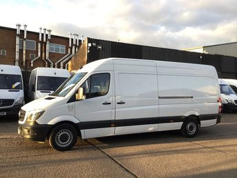 2017 MERCEDES-BENZ SPRINTER 2.1 313CDI LWB HIGH ROOF 130BHP. EU6 ULEZ. MERC WARRANTY 2020 £11990.00
