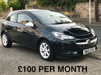 2015 VAUXHALL CORSA 1.2 STING 3d. LOW INSURANCE, GROUP 2  £5880.00