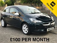 USED 2015 15 VAUXHALL CORSA 1.2 STING 3d. LOW INSURANCE, GROUP 2