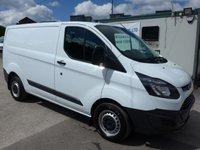 2015 FORD TRANSIT CUSTOM 2.2 270 SWB LOW ROOF, 99 BHP [EURO 5]