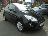 USED 2014 64 FORD KA 1.2 ZETEC 3d 69 BHP ONLY 33,000 MILES!