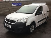 USED 2016 16 PEUGEOT PARTNER 1.6 HDI S L1 850 1 OWNER