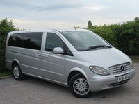 USED 2009 59 MERCEDES-BENZ VITO 2.1 111 CDI LONG TRAVELINER SWB MULTI-DIRECTIONAL REAR SEATS,6 SPEED DIESEL,PRIVACY GLASS