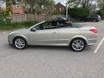 2007 VAUXHALL ASTRA 1.9 TWIN TOP DESIGN 3d 150 BHP £2990.00