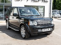 USED 2012 12 LAND ROVER DISCOVERY 3.0 4 SDV6 GS 5d AUTO 255 BHP