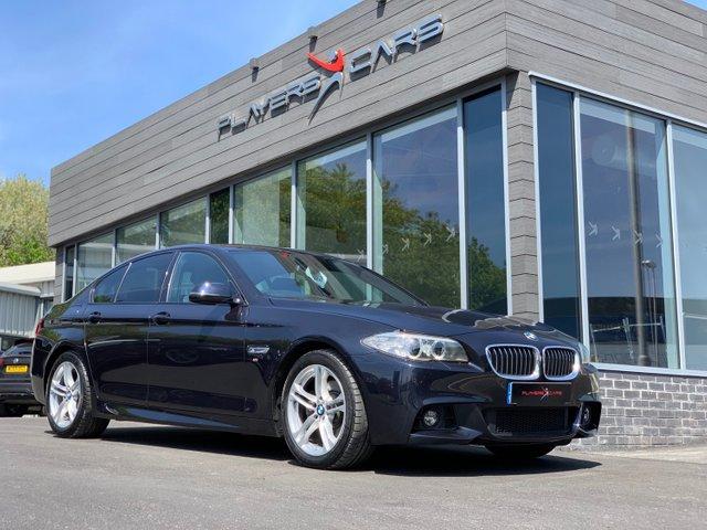 2016 66 BMW 5 SERIES 2.0 520D M SPORT 4d AUTO 188 BHP