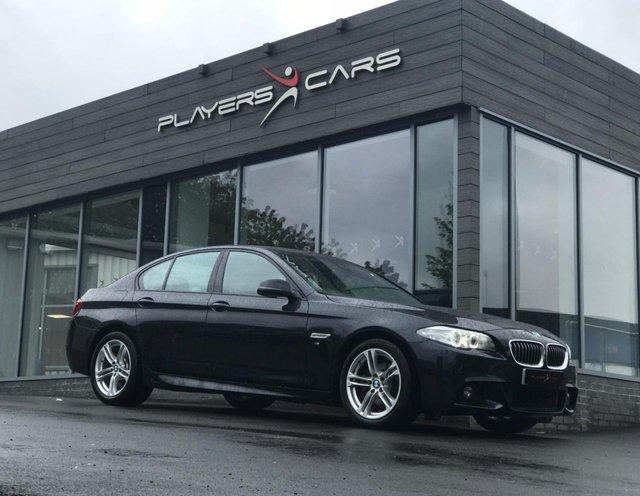 2016 16 BMW 5 SERIES 2.0 520D M SPORT 4d AUTO 188 BHP