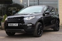 USED 2016 66 LAND ROVER DISCOVERY SPORT 2.0 TD4 HSE BLACK 5d 180 BHP