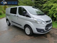 USED 2015 15 FORD TRANSIT CUSTOM 2.2 330 LWB 5D 125 BHP AIR CON FACTORY NAV CRUISE ADDED WINDOW CRUISE CONTROL ELECTRIC PACK HEATED SEATS RAC WARRANTY