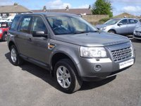 USED 2008 08 LAND ROVER FREELANDER 2.2 TD4 GS 5d 159 BHP LOW MILES WITH FULL HISTORY