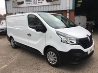 2016 RENAULT TRAFIC SWB SL27 BUSINESS 115BHP LOW ROOF 44K MILES CHOICE OF £8495.00