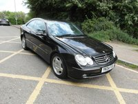 USED 2004 04 MERCEDES-BENZ CLK CLK200 Kompressor 1.8 Auto Avantgarde Petrol Automatic Coupe