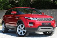 USED 2012 02 LAND ROVER RANGE ROVER EVOQUE 2.2 SD4 PURE 5d 190 BHP