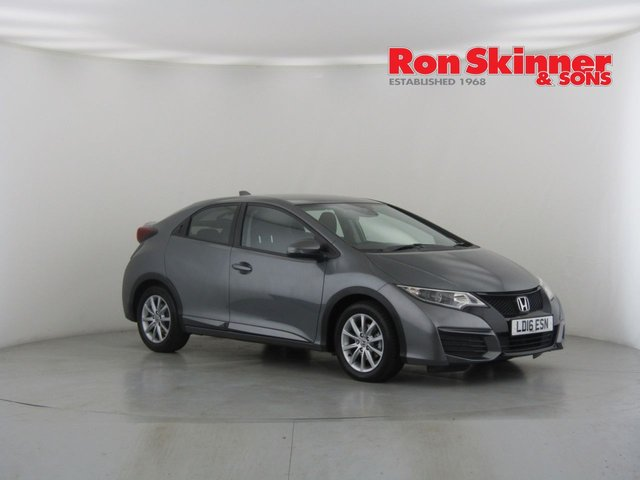 View our 2016 16 HONDA CIVIC 1.3 I-VTEC S 5d 98 BHP