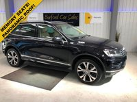 USED 2015 15 VOLKSWAGEN TOUAREG 3.0 V6 R-LINE TDI BLUEMOTION TECHNOLOGY 5d AUTO 259 BHP