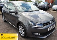 USED 2011 61 VOLKSWAGEN POLO 1.2 MATCH 3d 59 BHP SERVICE HISTORY X2 KEYS 2 PREVIOUS KEEPERS