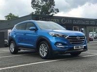 USED 2016 16 HYUNDAI TUCSON 1.7 CRDI PREMIUM BLUE DRIVE 5d 114 BHP