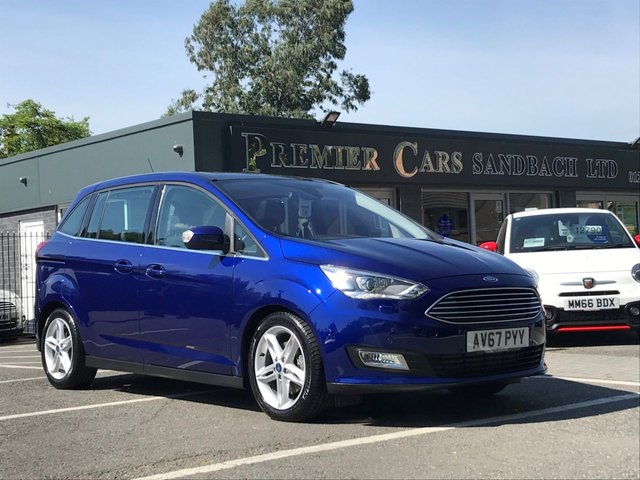 USED 2017 67 FORD GRAND C-MAX 2.0 TITANIUM X TDCI 5d 148 BHP