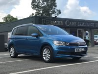 2017 VOLKSWAGEN TOURAN 2.0 SE FAMILY TDI BLUEMOTION TECHNOLOGY 5d 148 BHP £21490.00