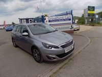 USED 2015 15 PEUGEOT 308 1.6 BLUE HDI S/S SW ALLURE 5d 120 BHP