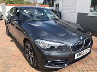 USED 2015 65 BMW 1 SERIES 1.5 116D SPORT 5d 114 BHP