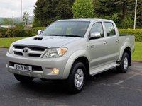 2009 TOYOTA HI-LUX 3.0 4X4 D-4D D/C 1d 169 BHP £SOLD