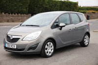 USED 2011 11 VAUXHALL MERIVA 1.7 EXCLUSIV CDTI 5d 128 BHP Finance Options Available - Good Credit / Bad Credit