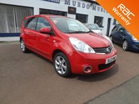 USED 2012 12 NISSAN NOTE 1.4 N-TEC PLUS 5d 88 BHP