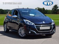 USED 2016 16 PEUGEOT 208 1.2 PURETECH S/S ALLURE 5d AUTO 110 BHP A very high specification 1 owner 2016 Peugeot 208 1.2 Allure 5dr automatic in blue metallic with privacy glass, alloy wheels, cruise control, SAT NAV, AIR CON, BLUETOOTH, CRUISE CONTROL AND PRIVACY GLASS. Just 18000 miles with service history and 2 keys.
