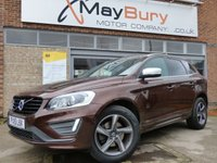 USED 2015 15 VOLVO XC60 2.0 D4 R-DESIGN LUX NAV 5d AUTO 188 BHP ONE OWNER EXAMPLE WITH FULL VOLVO SERVICE HISTORY