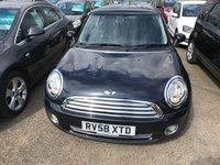 USED 2008 58 MINI HATCH ONE 1.4 ONE 3d 94 BHP