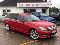 2011 MERCEDES-BENZ C CLASS 1.8 C180 Sport BlueEfficiency Estate Automatic £7699.00