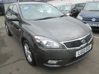 2012 KIA CEED AUTOMATIC 1.6 2 5d  124 BHP £5895.00