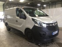 USED 2015 64 VAUXHALL VIVARO 1.6 2700 L1H1 CDTI P/V ECOFLEX 1d 89 BHP ONE OWNER - DIRECT LEASE COMPANY - AIR CONDITIONING - ELECTRIC WINDOWS