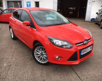2013 FORD FOCUS 1.0 ZETEC TURBO 5d 99 BHP £6995.00