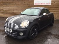 USED 2015 15 MINI COUPE 1.6 COOPER 2d 120 BHP 1 OWNER LOW MILEAGE