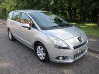 2010 PEUGEOT 5008 1.6 HDI SPORT 5d AUTO 112 BHP £5500.00