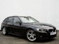 USED 2016 16 BMW 3 SERIES 2.0 320D M SPORT TOURING 5d AUTO 188 BHP PRO NAV+HEATED LEATHER+LEDS+REAR TAILGATE